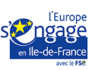 Logo FSE - Ile de France s'engage